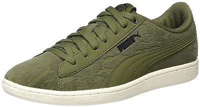 Puma Basket Platform VR, Sneakers Basses Femme, Vert (Olive Night-Olive Night), 42.5 EU