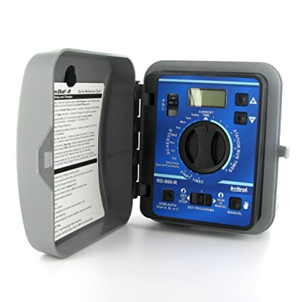 Irritrol Rain Dial RD900-INT-R 9 Station Indoor Irrigation Controller