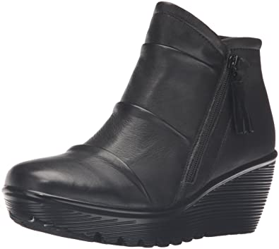 e472a08c7f58 Skechers Women s Parallel-Double Trouble Ankle Bootie