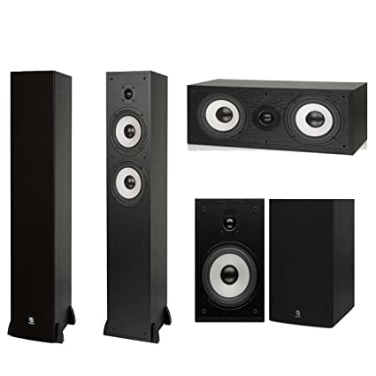 Boston Acoustics 5 0 Speakers Package With CS260 Towers CS26 Bookshelf And A225C Center Channel