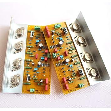 Musical Fidelity A1000 30 W + 30 W clase a MJ15011 15012 amplificador completo Junta