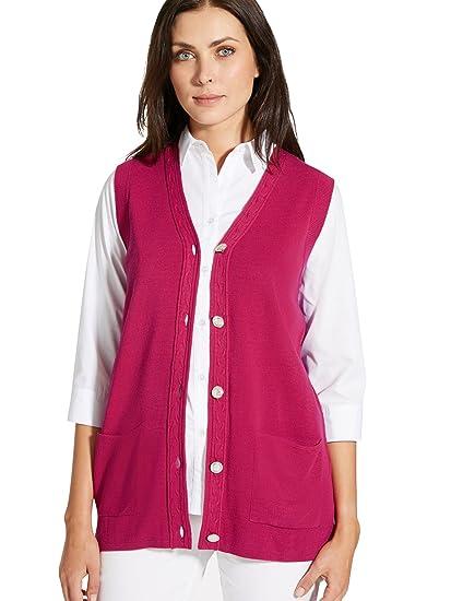 8a954b7789fbd Charmance - Gilet sans Manches - Femme  Amazon.fr  Vêtements et accessoires