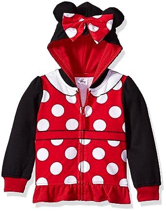 51007dfe5081 Amazon.com  Disney Baby Girls  Toddler Minnie Mouse Costume Zip-up ...