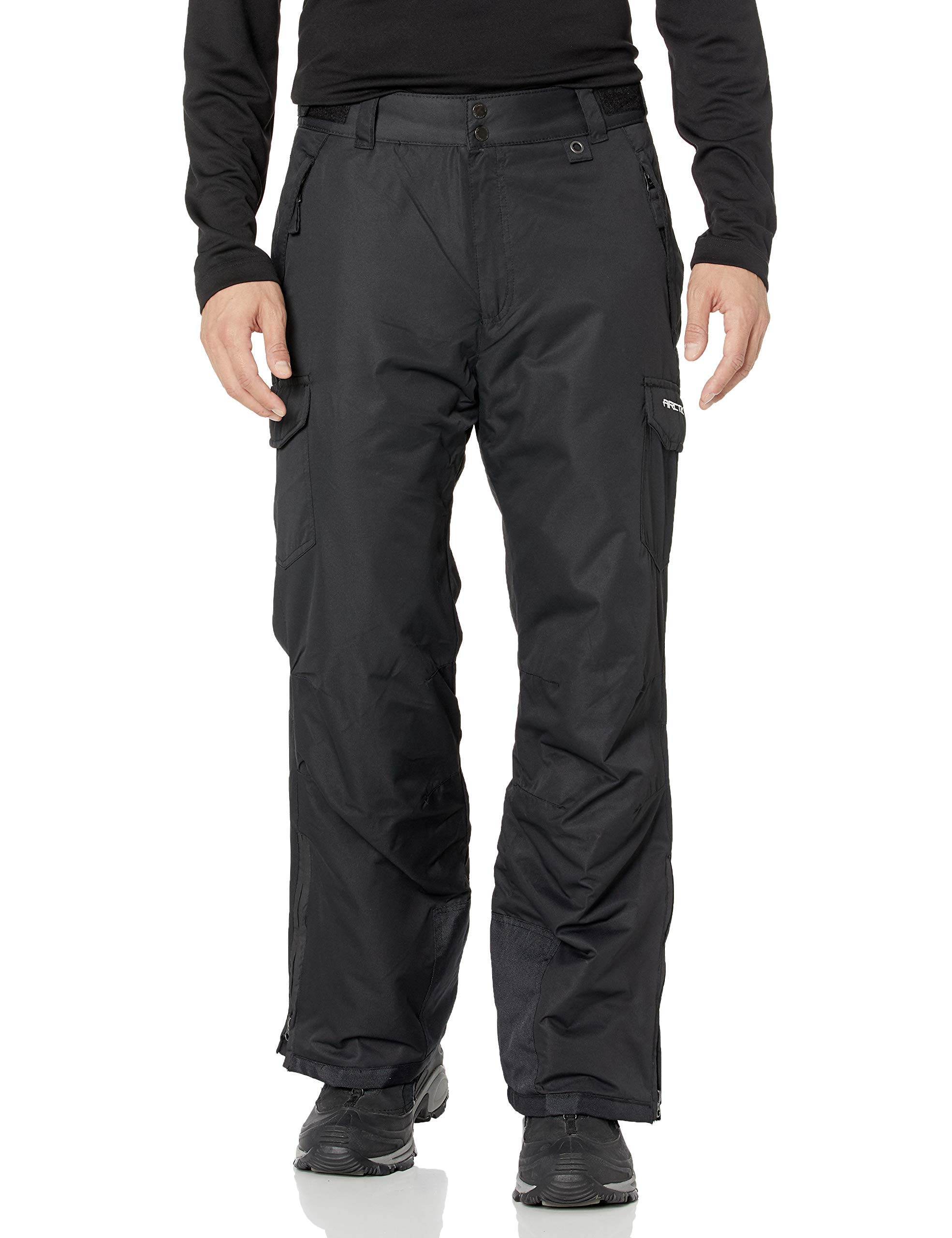 Arctix Men's Snow Sports Cargo Pants, Black, 3X-Large/36'' Inseam by Arctix
