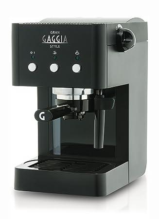 gaggia ri8323 01 gran manual espresso machine 1 litre 950 watt 15 rh amazon co uk gaggia coffee manual pdf gaggia coffee deluxe manual