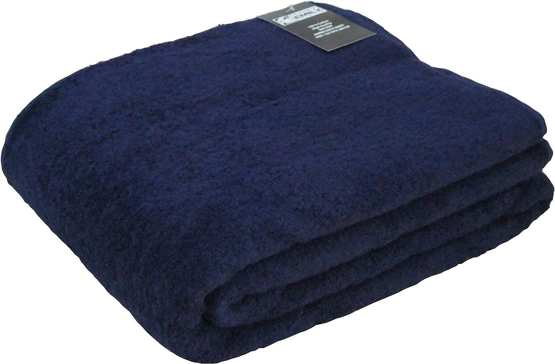 The House Of Emily Massive//Huge//Extra Large 100/% Cotton Bath Sheet//Beach Towel 150cm x 200cm Black