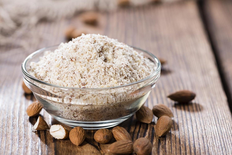 Bio Mandeln gemahlen 500 g Mandelmehl Mandelgrieß naturbelassen: Amazon.de:  Lebensmittel & Getränke