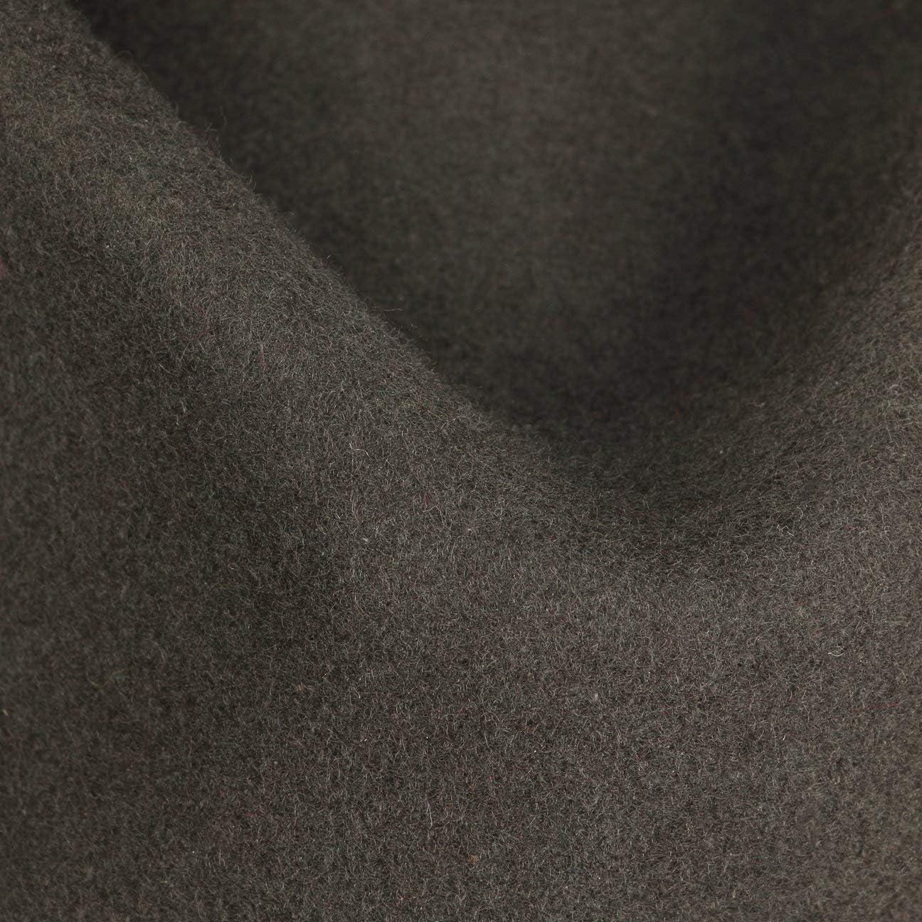 Player-Hut mit Ripsband - Herbst//Winter Trilby unifarben Kopfh/öhe ca. 11,5 cm Filzhut wasserabweisend und knautschbar Stetson Comaro Player Wollfilzhut Herren