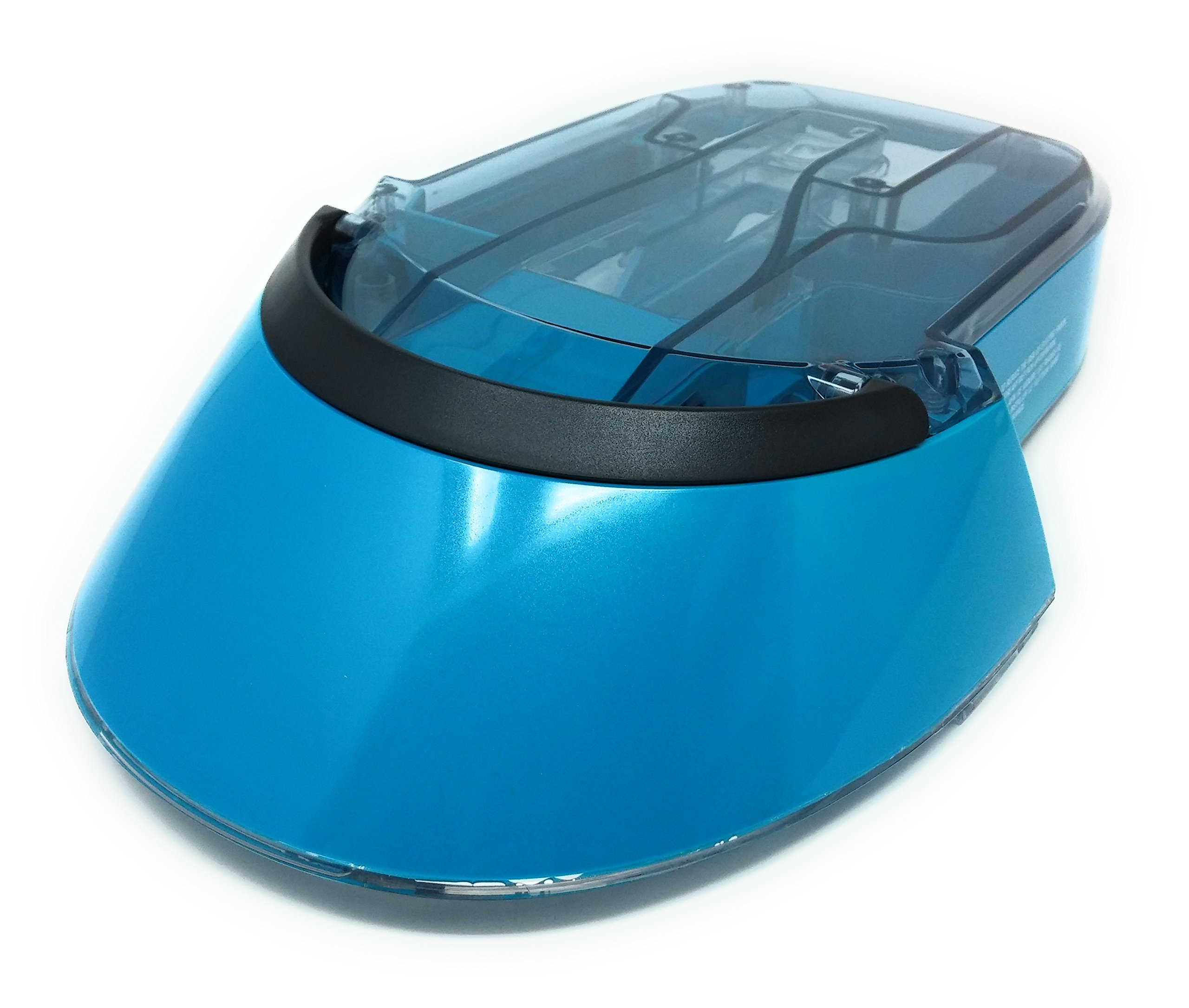 Bissell Deep Clean ProHeat 2X Professional Pet Carpet Cleaner | 17N4 Series Tank Lid Assembly (Aqua Blue)