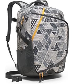 e5ead78ac5 THE NORTH FACE HOT SHOT BACKPACK VINTAGE WHITE TRICKONOMETRY PRINT/RADIANT  YELLOW