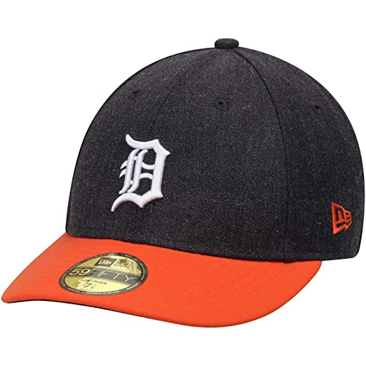 separation shoes fa2ec 728c7 MLB Detroit Tigers Change Up Low Crown 59FIFTY Fitted Cap, 6 7 8,