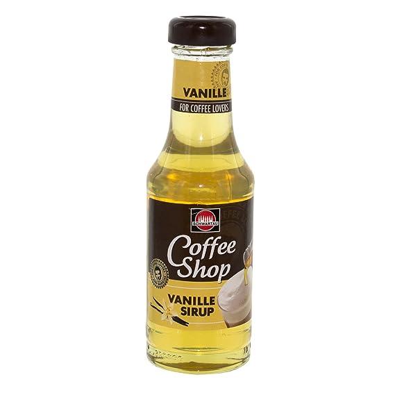 Schwartau café Jarabe Vanilla Coffee Shop 200ml para Senseo