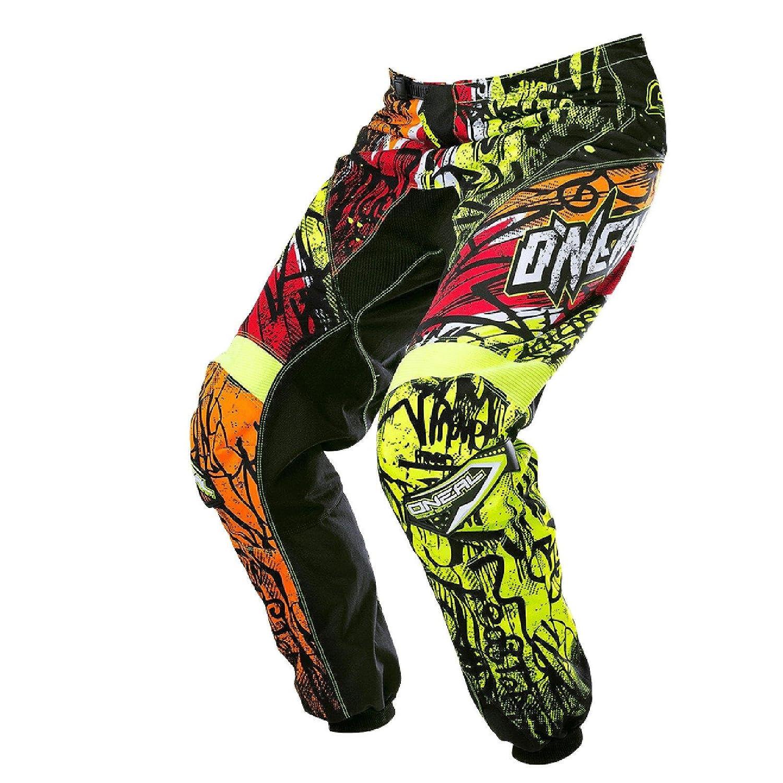 O& 039;Neal Element MX Hose Vandal Schwarz Neon Motocross Enduro Offroad Quad, 0128-6