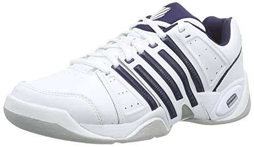 online retailer 8bd36 f7cdf K-Swiss Performance Men s KS TFW ACCOMPLISH II LTR CARPET WHT NVY SLV