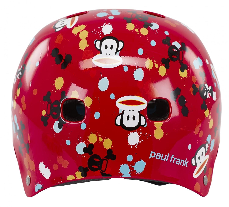 Bell Kinder Fahrradhelm Segment JR Red Paul Frank Paint Ball 51 55 cm Amazon Sport & Freizeit