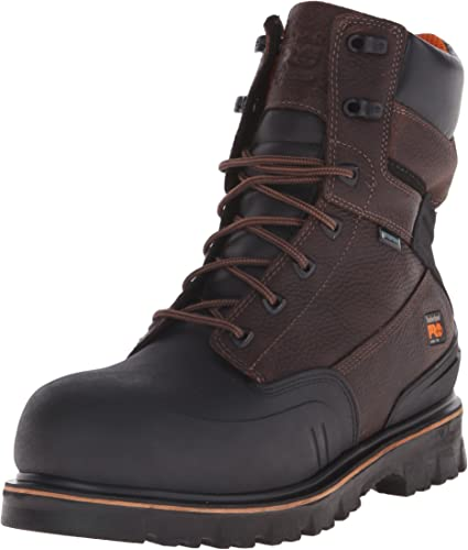 "Amazon.com: Timberland PRO Men's 8"" Rigmaster XT Steel-Toe Waterproof Work  Boot: Shoes"