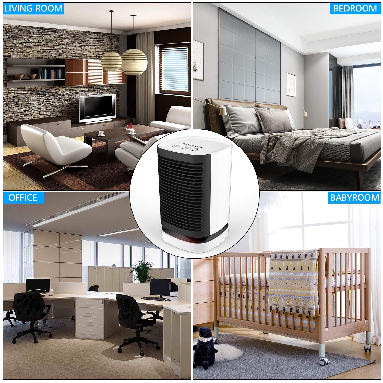 2 In1 950W Electric Space Fan Heater PTC Ceramic Heater