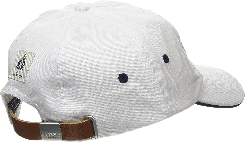 Hackett Hrr H Logo Cap Gorra de béisbol, Blanco (White 800), Talla ...