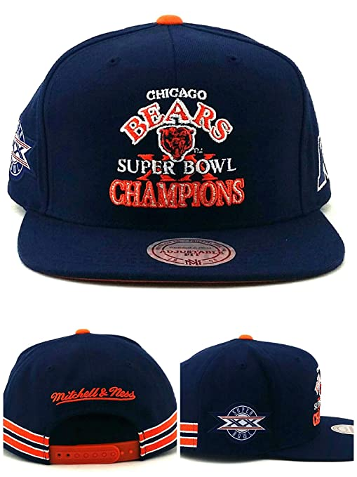 brand new 30c59 2c531 Amazon.com : Mitchell & Ness Chicago Bears New Super Bowl XX ...