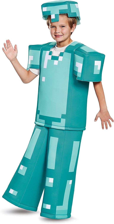 Kids Minecraft Armor Prestige Halloween Costume