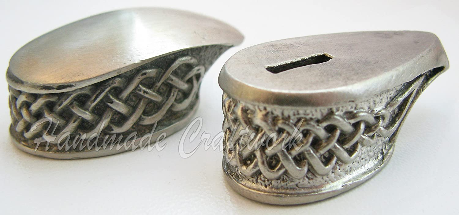CooB Knife Finger Guard Bolster Pommel for Custom Knife Making Handle, Awesome Collection Hand-Casted Sets, Made in Nickel Silver, Bronze