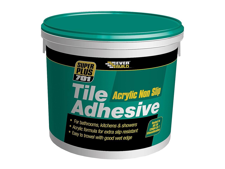 Everbuild NS10 - Adhesivo antideslizante para baldosas (10 L/16 kg) Toolbank NS10-EBD