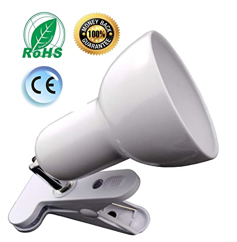Desk Lamp 360 Rotation Clip On Lamp Portable Book Reading Light