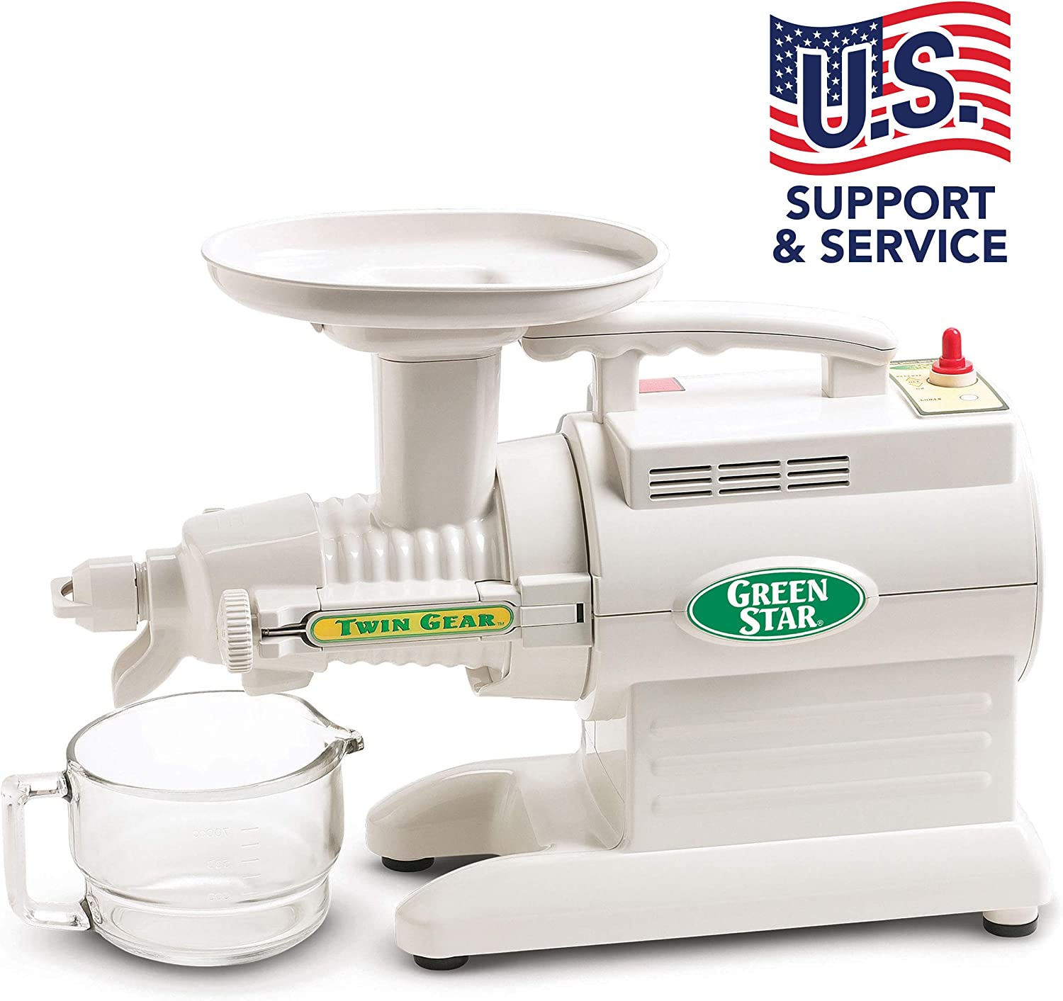 Tribest Green Star GS 1000 220V Basic Twin Gear Juice Extractor, 220V, NOT FOR USA USE (European Cord)