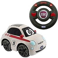 Chicco Fiat 500, Coche Con Radiocontrol, Color Blanco