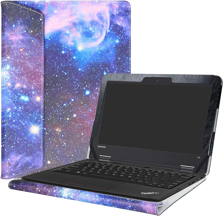 """Alapmk Protective Case Cover for 11.6"""" Lenovo ThinkPad 11e 5th Gen&4th Gen&3rd Gen/Yoga 11e 5th Gen&4th Gen&3rd Gen/11e Chromebook 4th Gen&3rd Gen/Yoga 11e Chromebook 4th Gen&3rd Gen Laptop,Galaxy"""