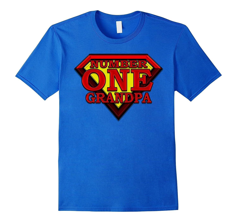 #1 Super Hero Number One 'GRANDPA' Winning Best Top Tshirt