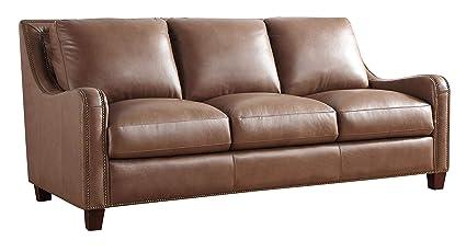Amazon.com: Oliver Pierce OP0380 Randall Italian Leather ...
