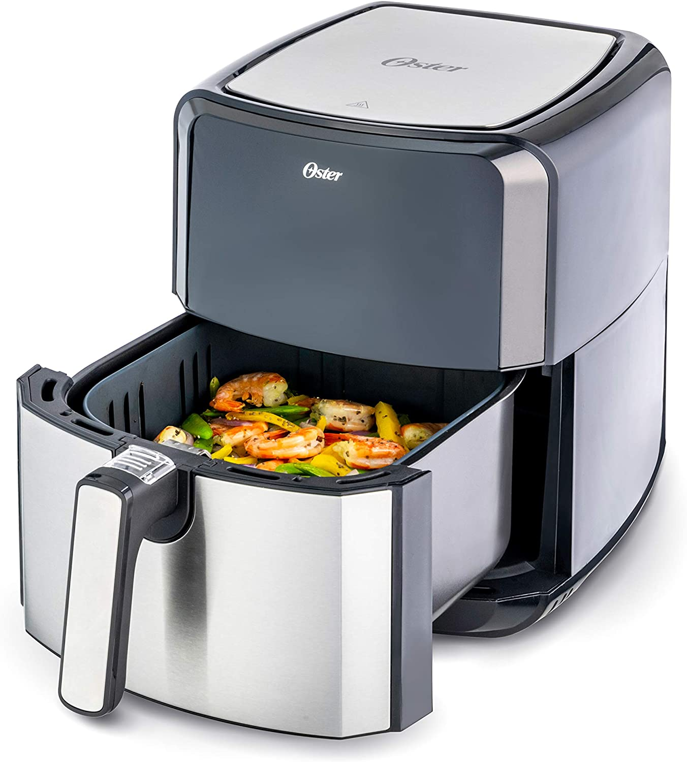 Oster DiamondForce Nonstick XL 5 Quart Digital Air Fryer, 8 Functions with Digital Touchscreen