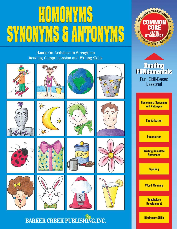 Homonyms, Synonyms & Antonyms: Karen Shackelford: 0612086016006 ...