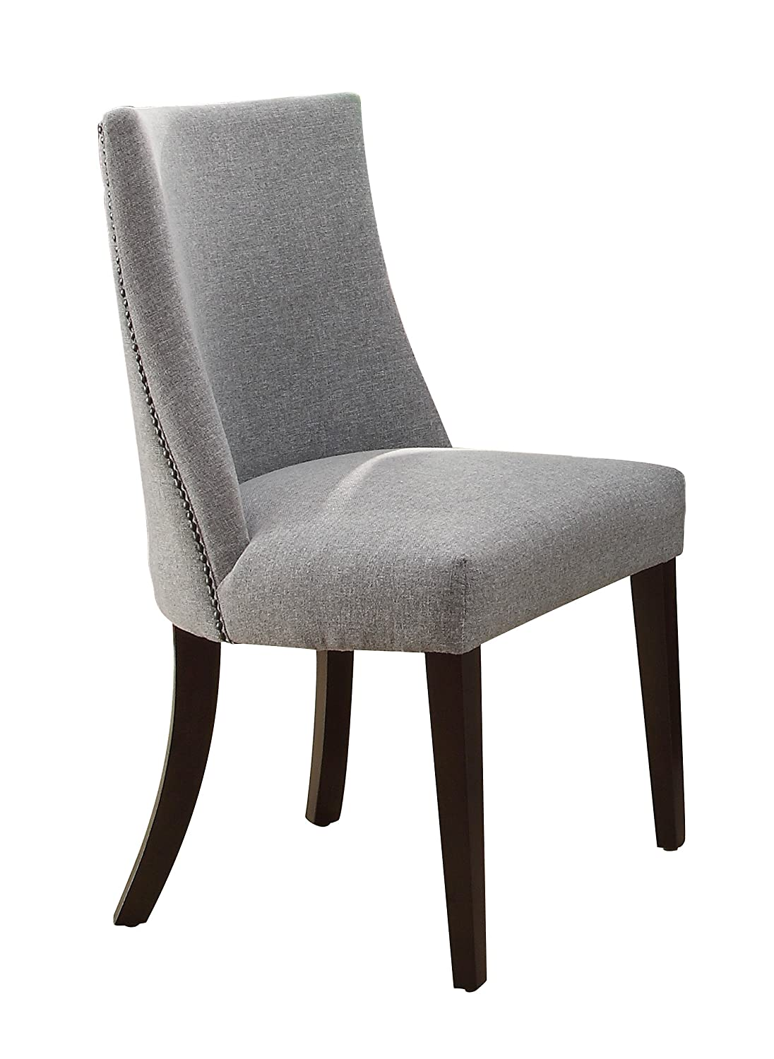 grey wood dining chairs. Amazon.com - Homelegance 2588S Accent/Dining Chair (Set Of 2), Blue/Grey Chairs Grey Wood Dining