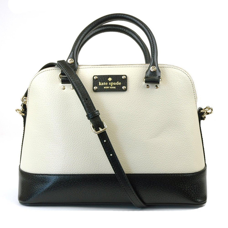 Kate Spade Berkeley Lane Small Rachelle Handbag Shoulder Katespade Bag In Porcelain Black Shoes