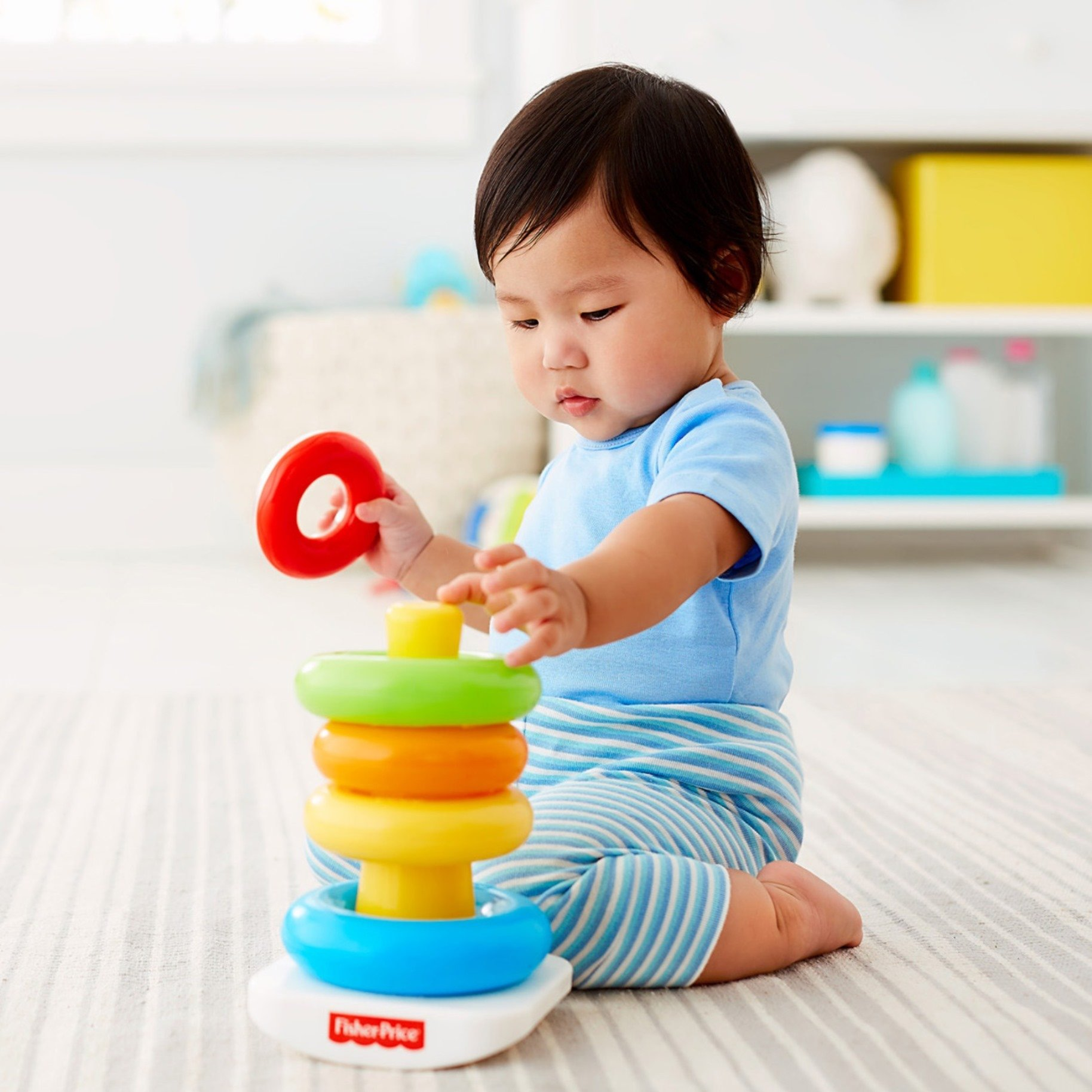Fisher Price Rock A Stack Toy Learning Toys Rockastack For