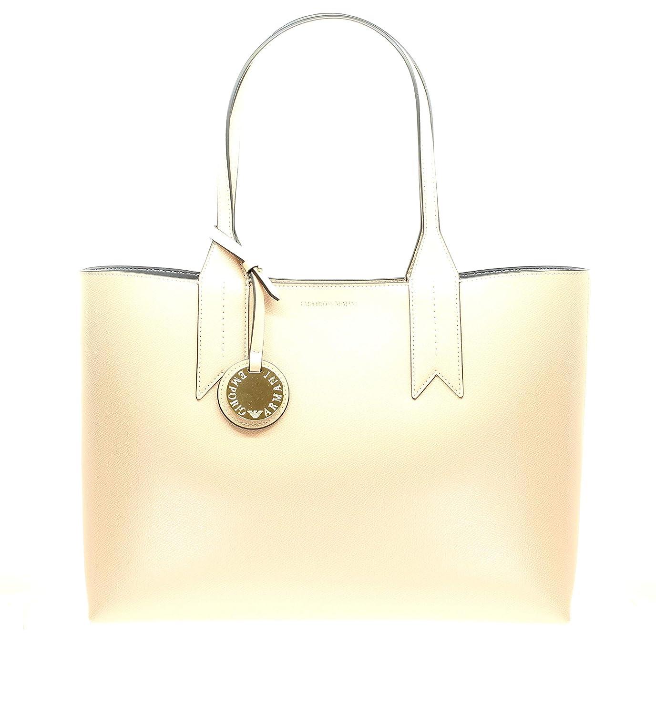 c09210d049d0 Emporio Armani Logo Shopping Womens Handbag Pink  Handbags  Amazon.com