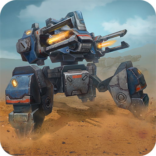 Tanks VS Robots: Online shooting battle action game -