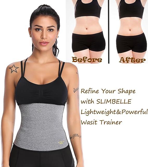 SLIMBELLE Femme Taille Formateur Latex Sauna Top Body modeleur Corset  Cincher Perte de Poids Ceinture Gilet  Amazon.fr  Vêtements et accessoires 9df76d777a3