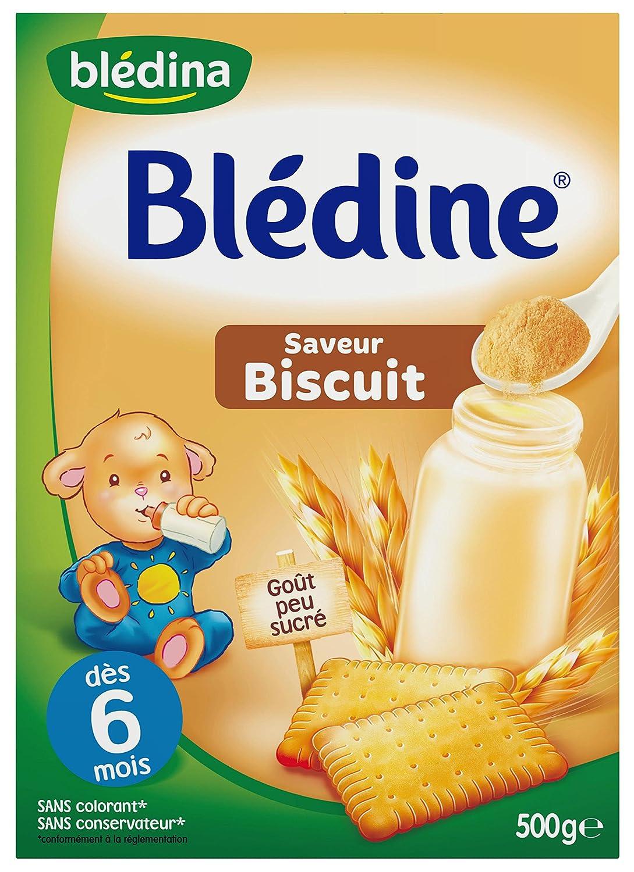 Blédina - Blédine biscuitée dès 6 mois 500g 554667