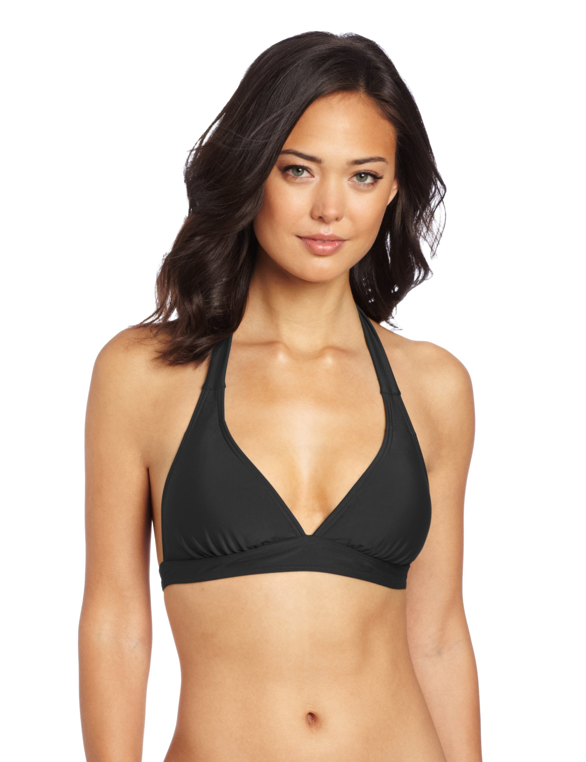 prAna Living Women's Lahari Halter Top, Large, Black