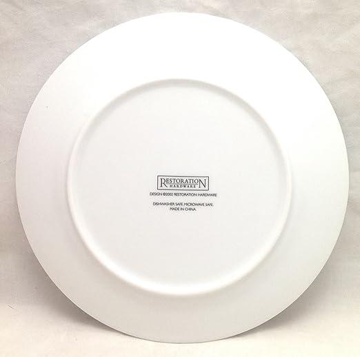 Amazon.com | Restoration Hardware Classic Cheese Plates (Vintage 4 Cheeses) - Set of 4 Dining u0026 Entertaining & Amazon.com | Restoration Hardware Classic Cheese Plates (Vintage 4 ...