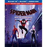 Spider-Man: Into the Spider-Verse (Blu-ray 3D + Blu-ray + Bonus Disc) (3-Disc Box Set) (Slipcase Packaging)