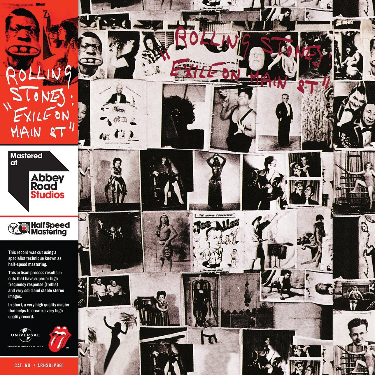 Vinilo : The Rolling Stones - Exile On Main Street (2 Disc)