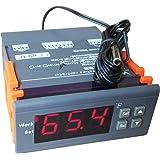 DC 12V Digital Temperature Controller Thermostat F