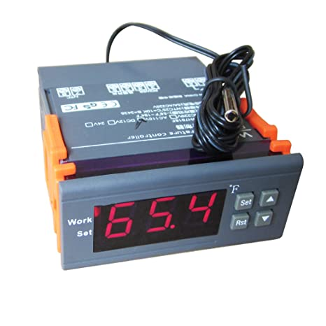 DC 12V Digital Temperature Controller Thermostat F