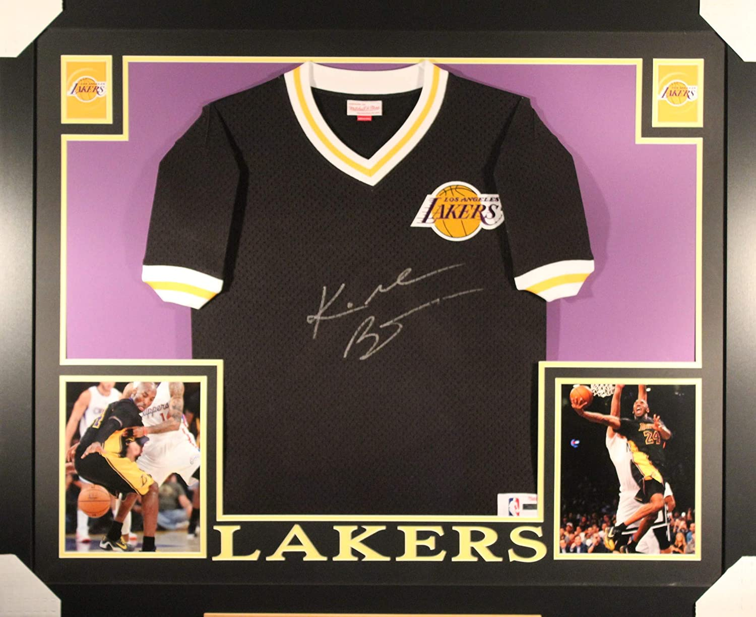 sports shoes 405a6 6debd Kobe Bryant Los Angeles Lakers Signed Autograph Custom ...