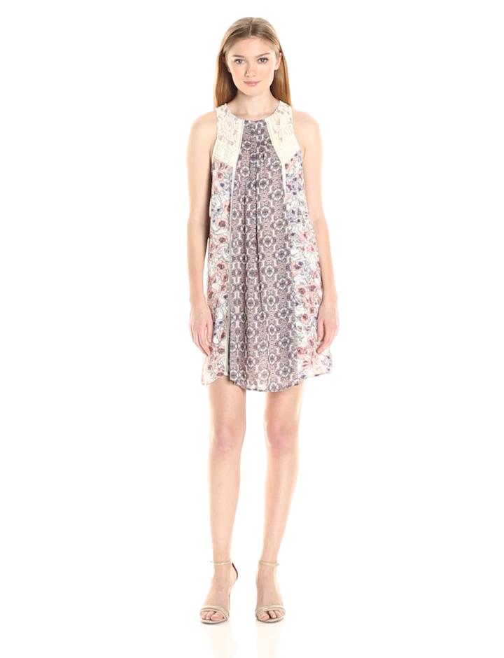 08e3e628c7f Taylor and Sage Women s Floral Mix Print Tank Dress at Amazon ...