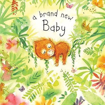 Twizler - Tarjeta de felicitación para recién nacido con el texto en ...